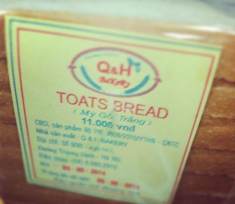 It's really bread!