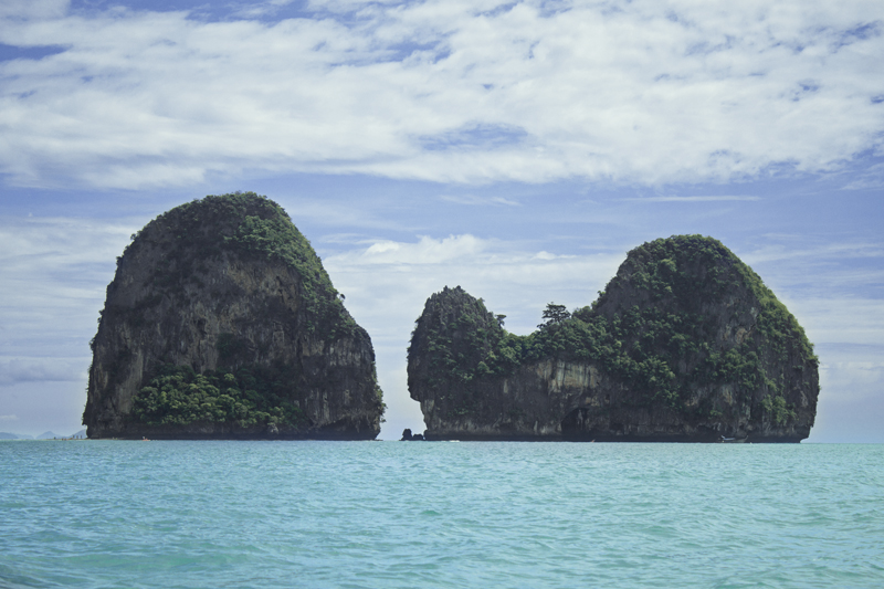 View over the islands, Ao Nang, Krabi, Thailand