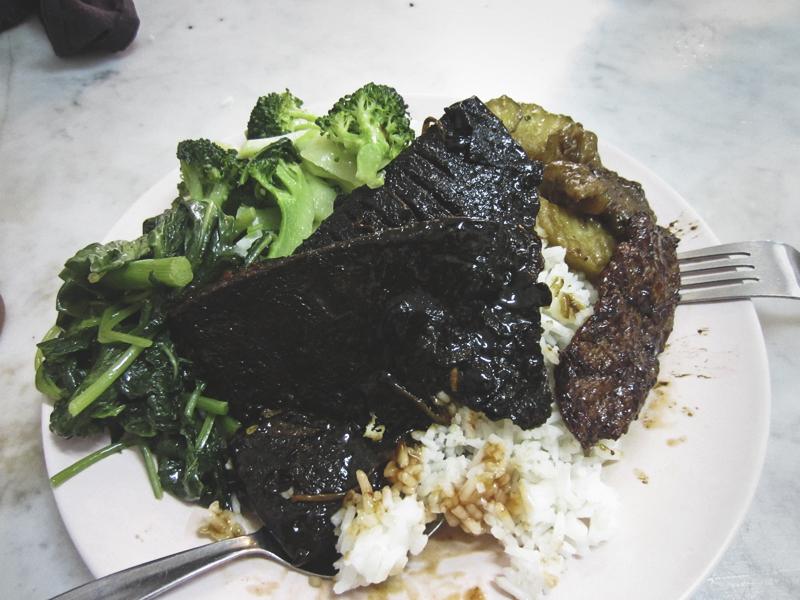 EE Beng vegetarian restaurant in Georgetown (penang, Malaysia