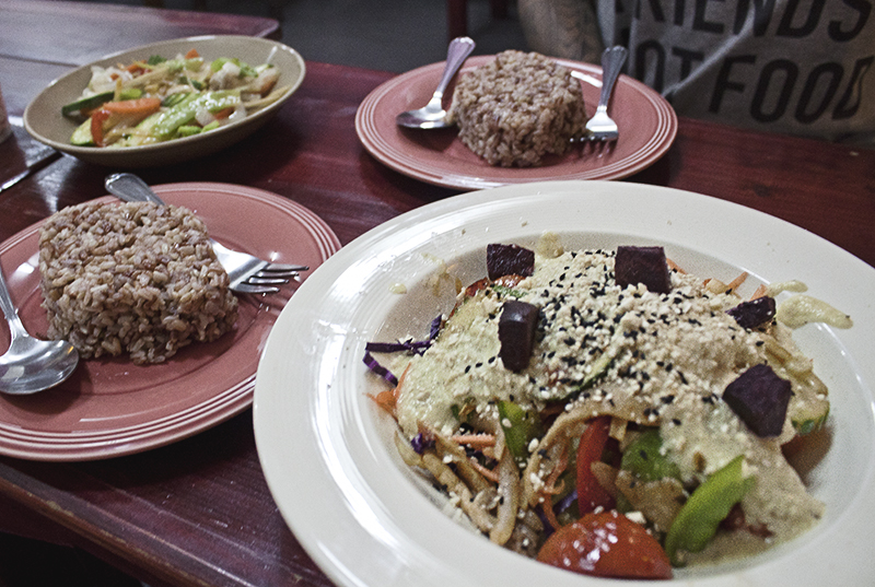 Vegetarian Food at Beetroot Stories in Chiang Mai, Thailand