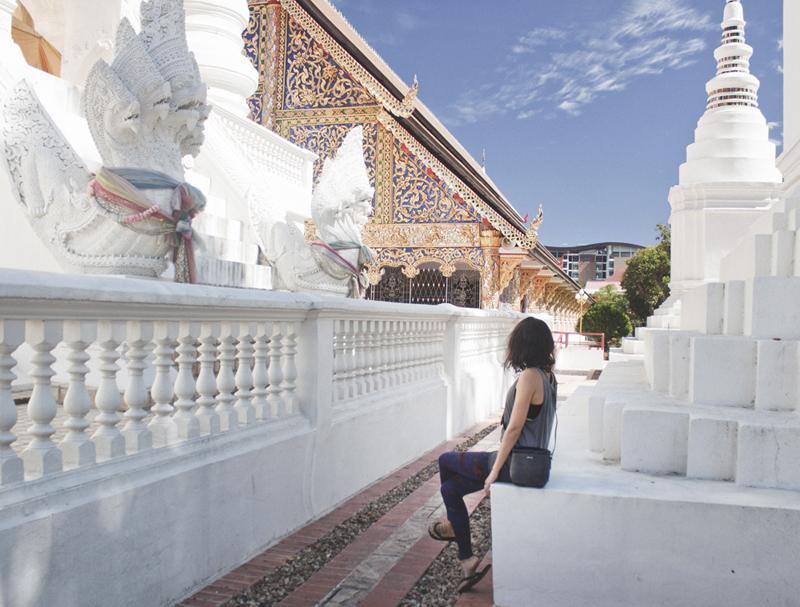 Wat Suan Dok in Chiang Maia