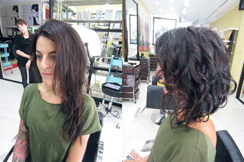 New York, New York hair salon in Chiang Mai, Thailand