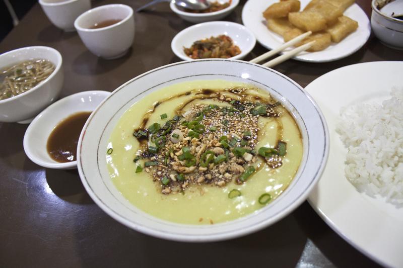 999 Shan Noodles, vegan and vegetarian food options. Yangon, Myanmar (Burma)