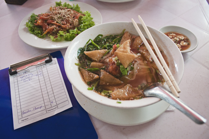 Lotaya, vegan and vegetarian food options. Yangon, Myanmar (Burma)
