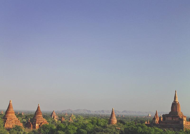 Bagan photo essay