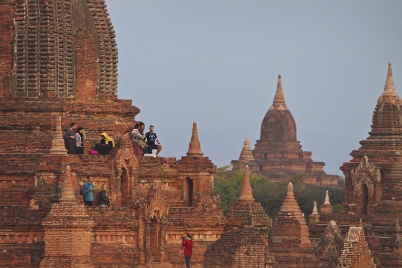 Burmese boy, Bagan, Myanmar (Burma)