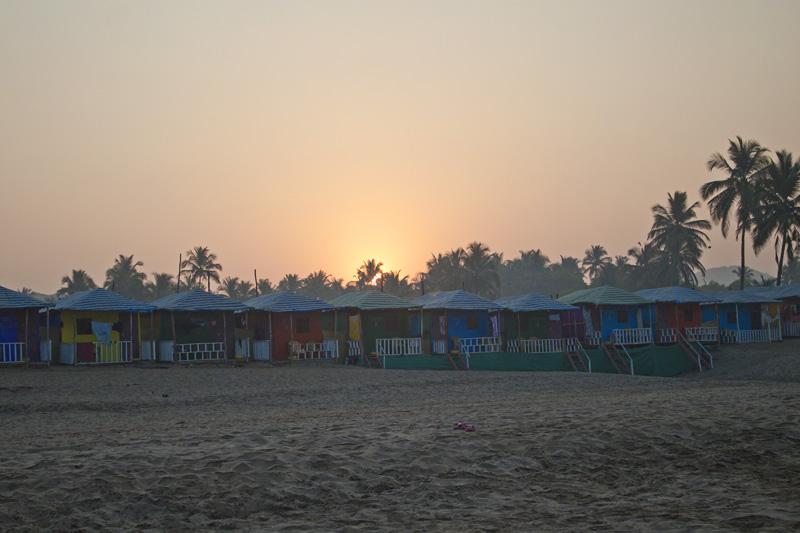 Blog review. Agonda Beach, Goa, India.