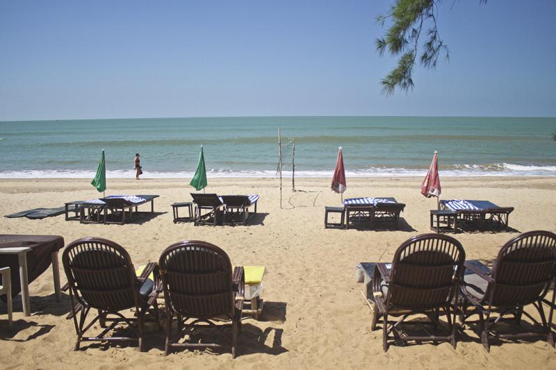Patnem beach in Goa, India