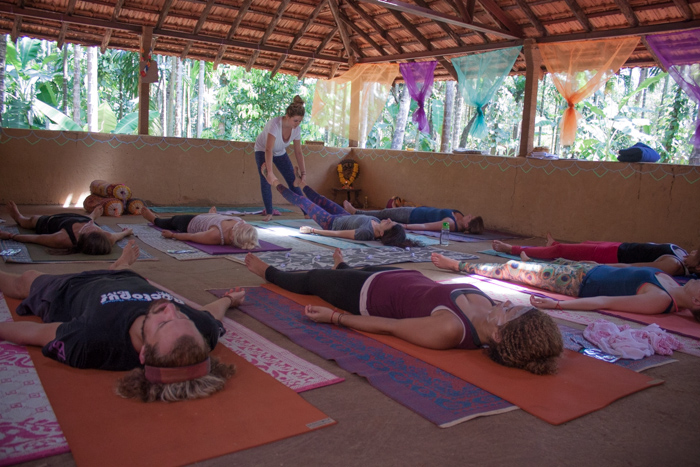 My spiritual journey. Yoga teacher training at Smriti Yoga in Goa, India