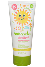 Babyganics Natural Sunscreen Review