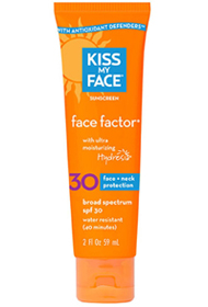 Kiss My Face Natural Sunscreen Review