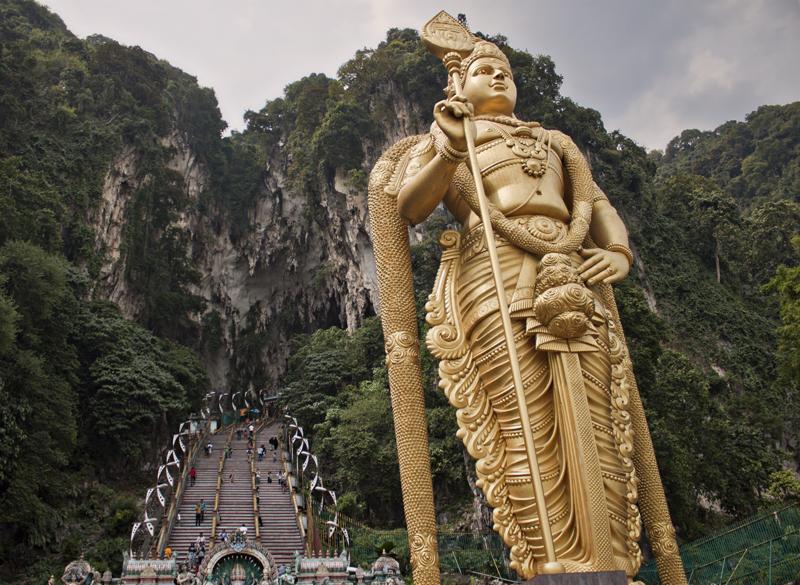 Batu Caves, free things to do in Kuala Lumpur, Malaysia