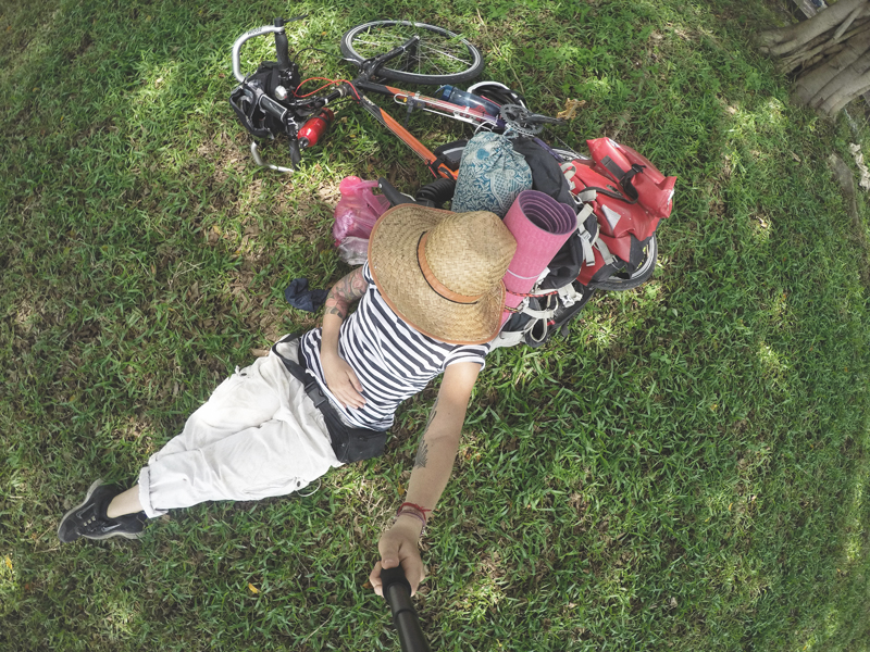 My bicycle touring adventure
