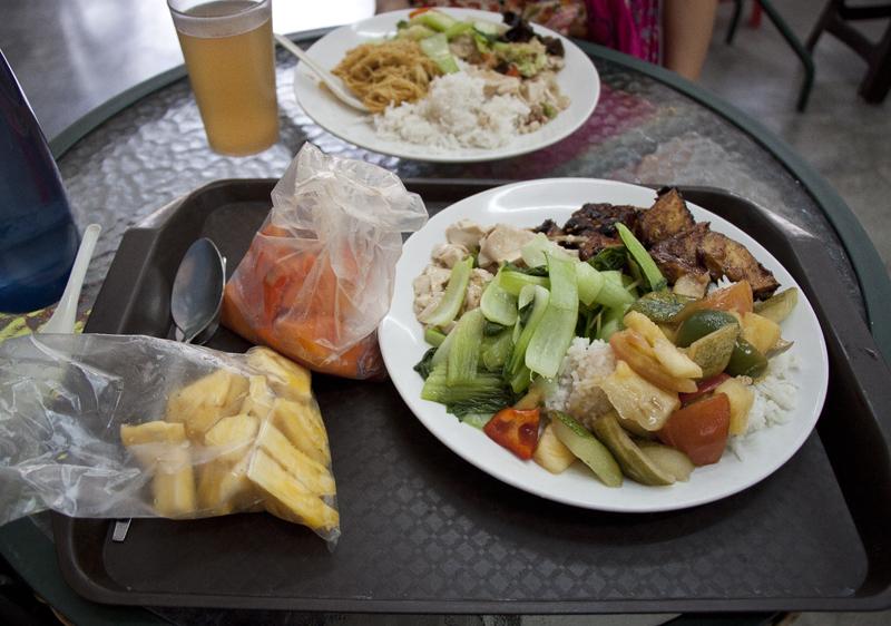 Vegan and vegetarian food guide Kuala Lumpur - Darma Realm.