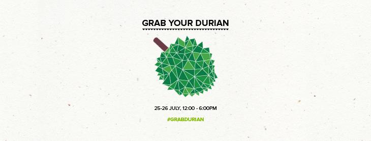 Free durian my My Teksi, Kuala Lumpur.