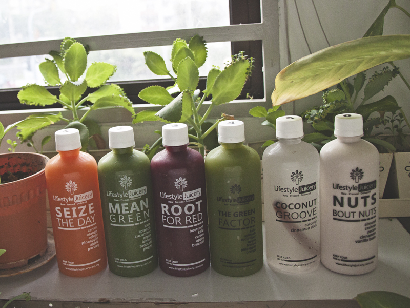 My juice cleanse experience with Lifestyle Juicery in Kuala Lumpur Malaysia.