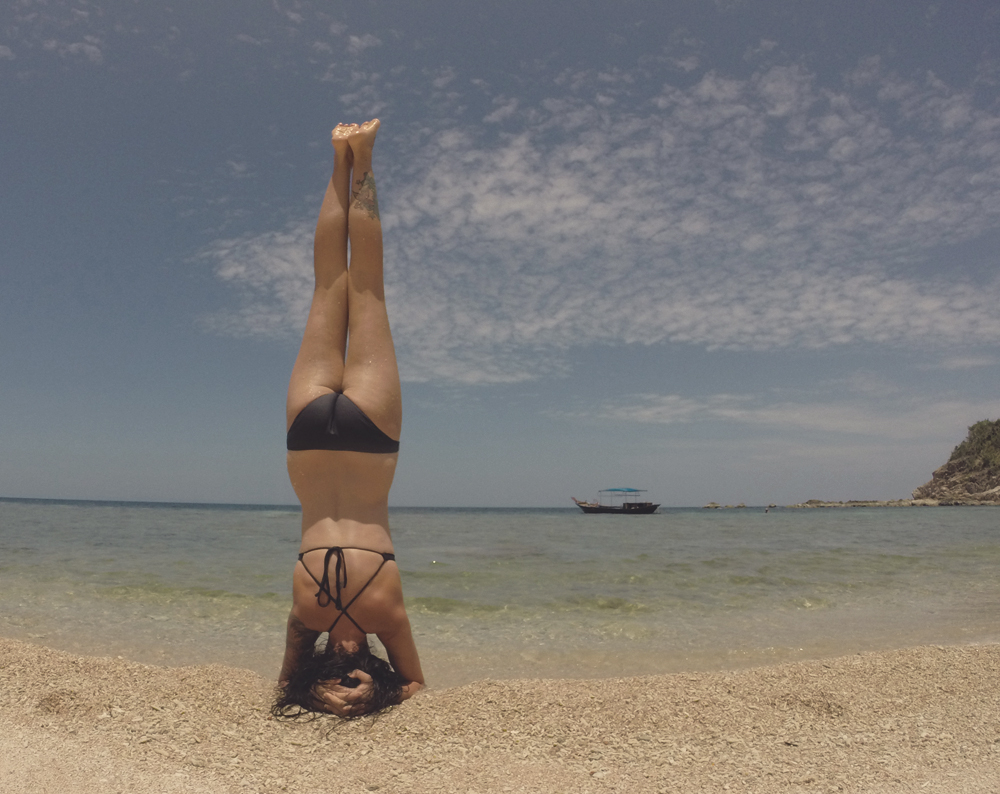 yoga and travel