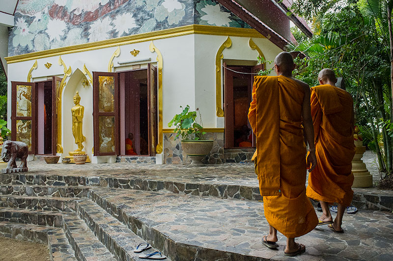 Vipassana Meditation Retreat at Wat Kow Tahm in Koh Phangan, Thailand
