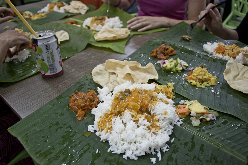 Vegan and Vegetarian Food Guide to Malacca - Selvam Banana Leaf Restaurant