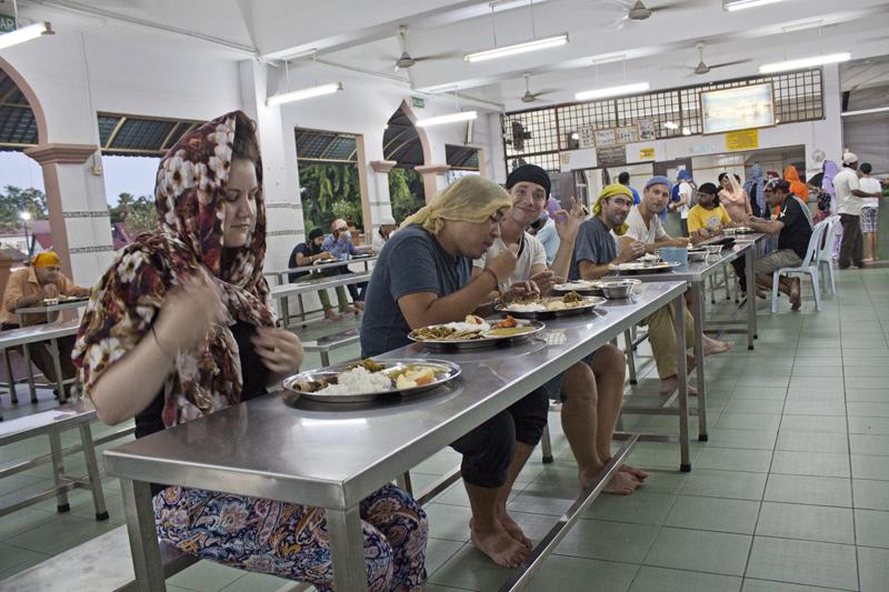 Vegan Guide to Malacca - Sahib Gurdwara