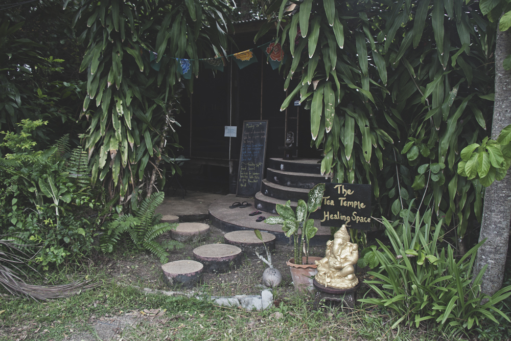 The Tea Templet at The Sanctuary yoga retreat, spa and detox resort in Haad Tien, Koh Phangan, Thailand.