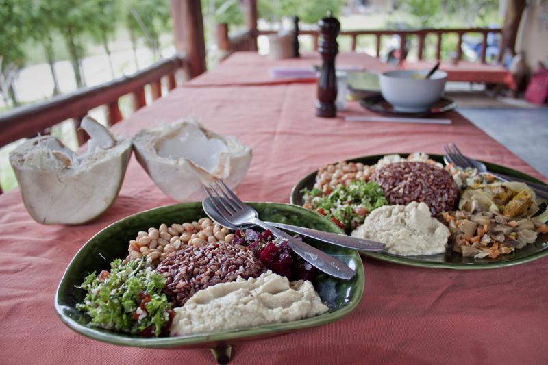 Vegan food guide of Koh Phangan, Thailand. Akasha, formerly EFE Natural Macrobiotic.