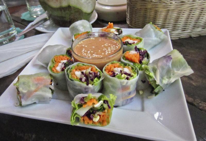 Vegan food guide of Koh Phangan, Thailand. Art Cafe.