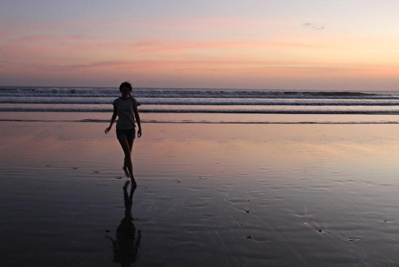 Sunset in Kuta, Bali, Indonesia