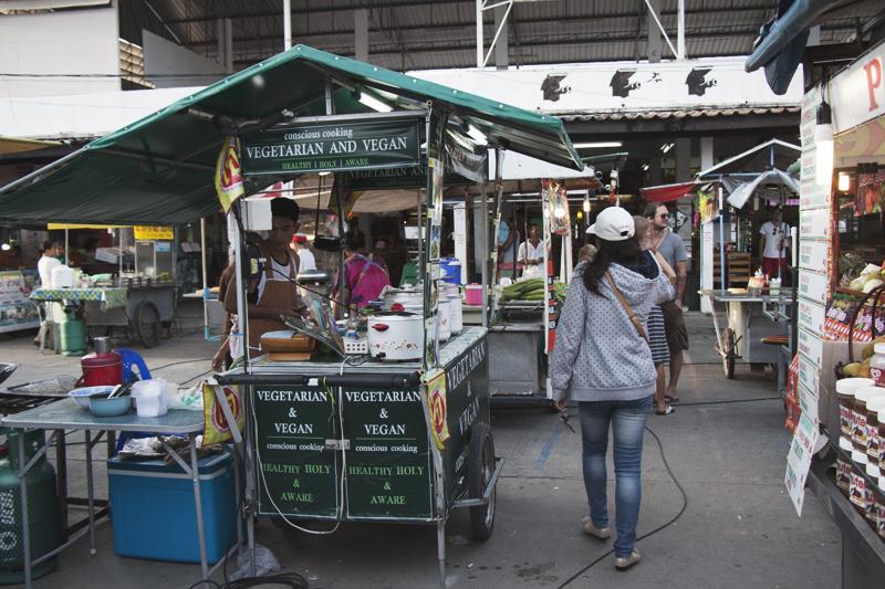 Vegan food guide of Koh Phangan, Thailand. Conscious Cooking, Pantip Market, Thong Sala