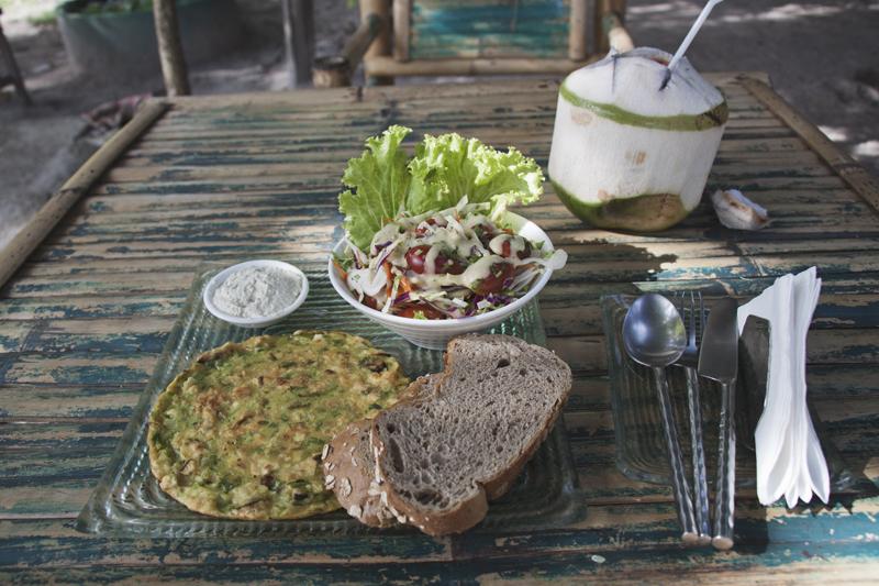 Vegan food guide of Koh Phangan, Thailand. Green Gallery