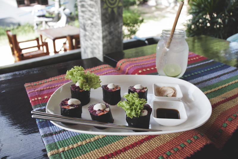 Vegan food guide of Koh Phangan, Thailand. Karma Kafe.