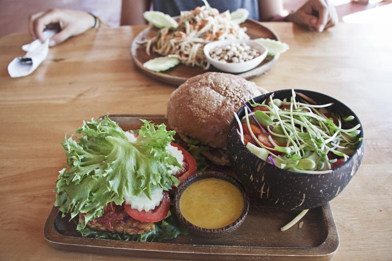 Vegan food guide of Koh Phangan, Thailand. Orion Healing Center