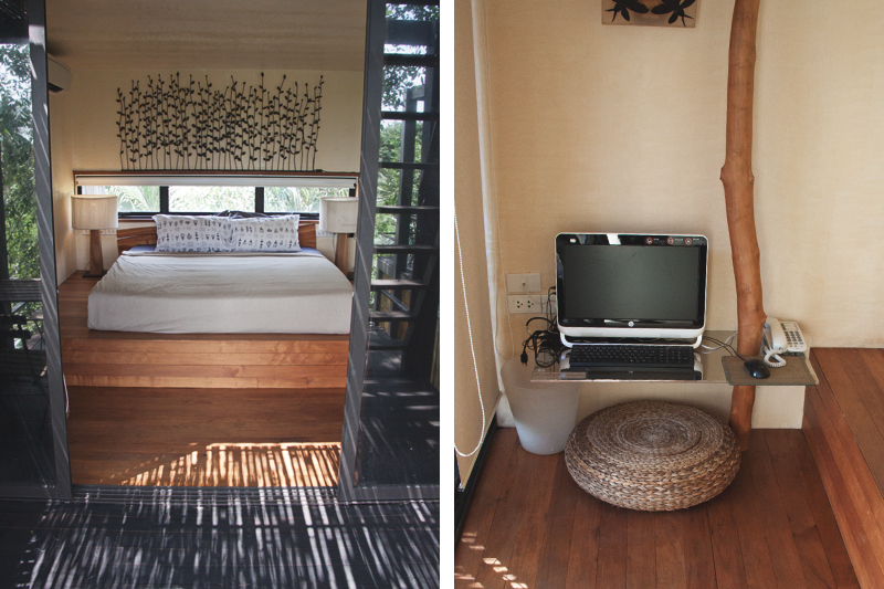 Bangkok Tree House Eco Resort Review. A vegan friendly design hotel by the Chao Praya River. Thailand.