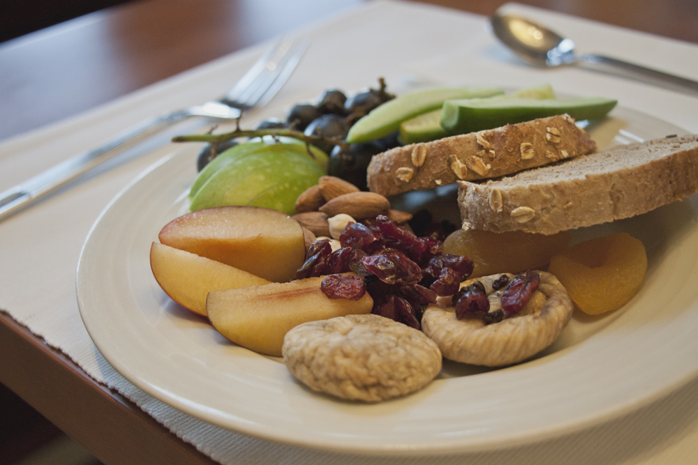 Sumahan on the water Istanbul hotel review Turkey. Vegan friendly breakfast