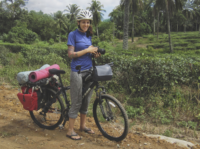 converting to bicycle touring as a solo female traveler