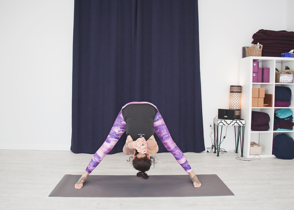 Wide legged Forward Bend - Prasarita Padottanasana C
