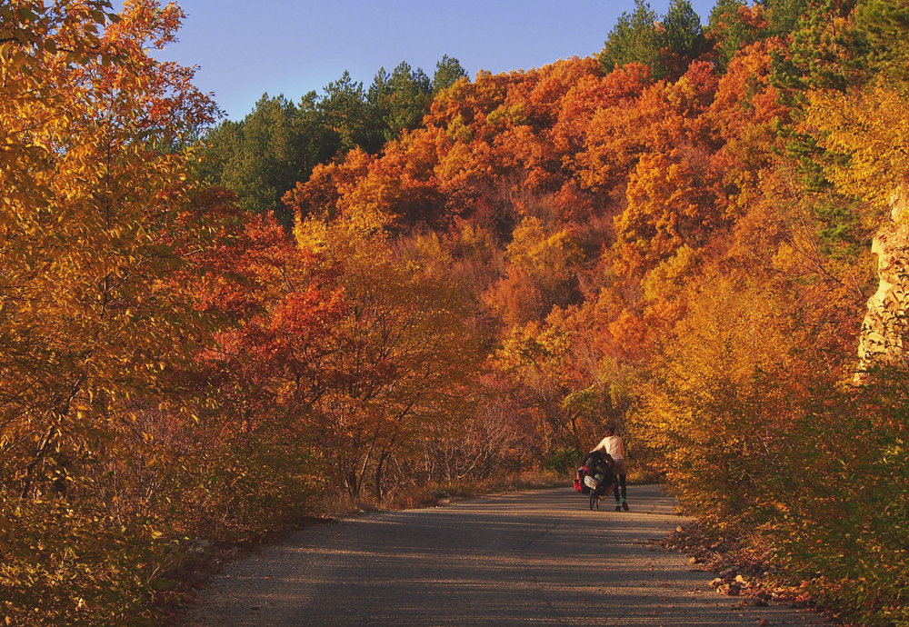 cycling the balkans in late fall