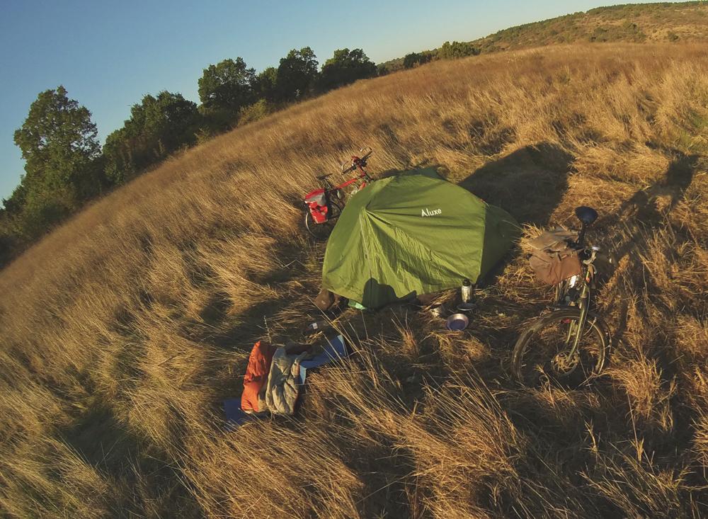 wild camping bulgaria