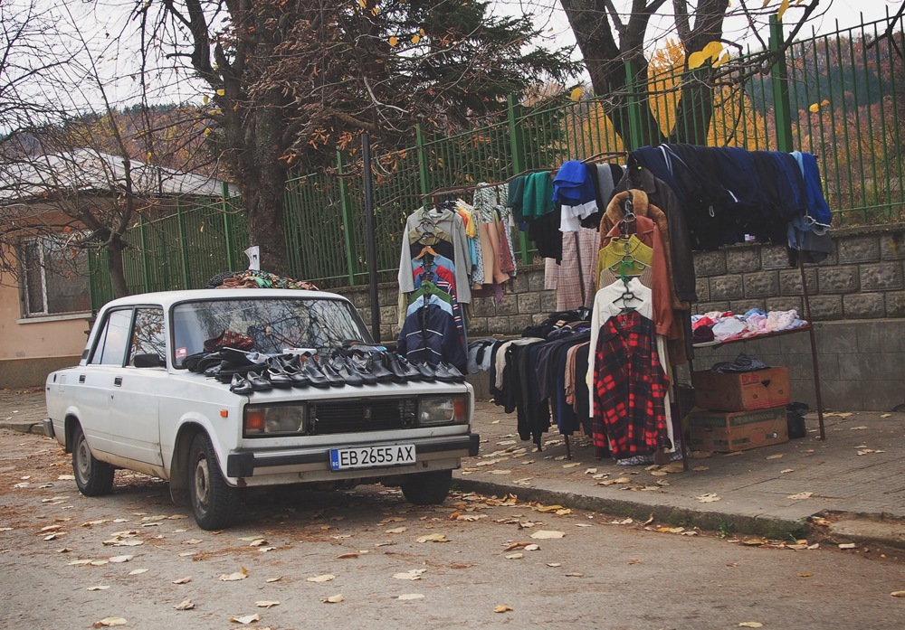 market in bulgaria