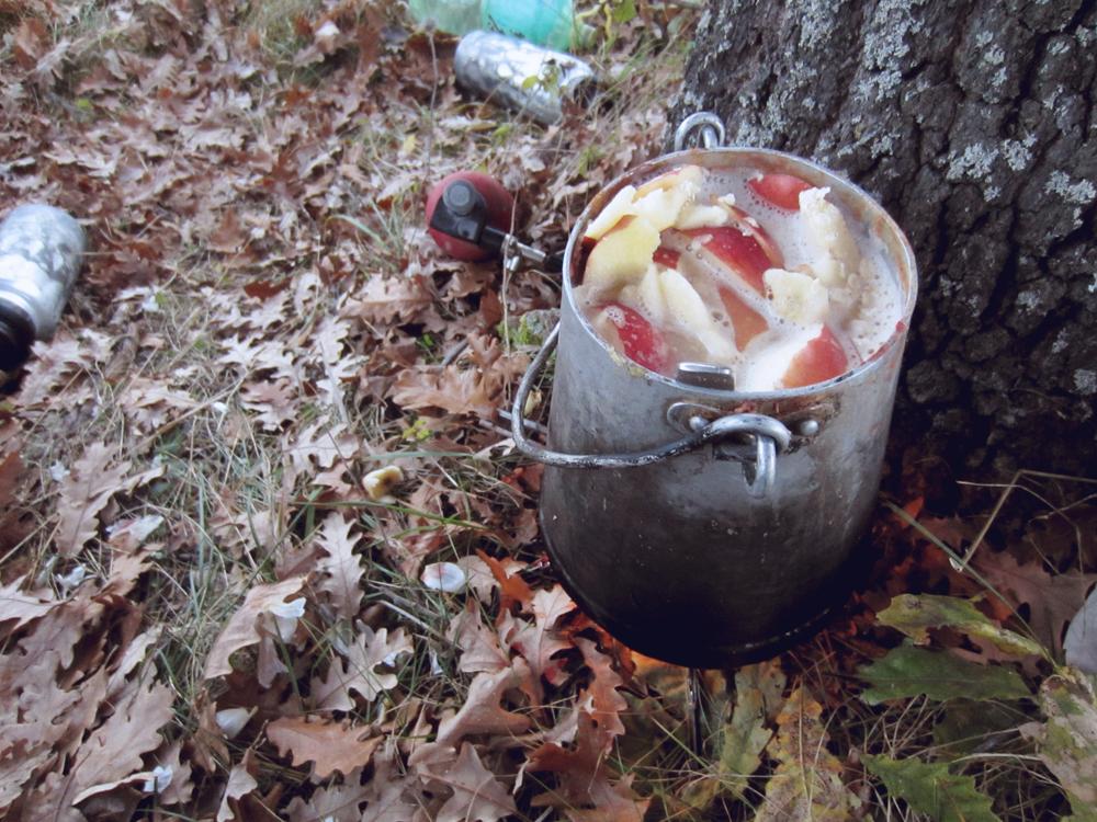 vegan oatmeal camping