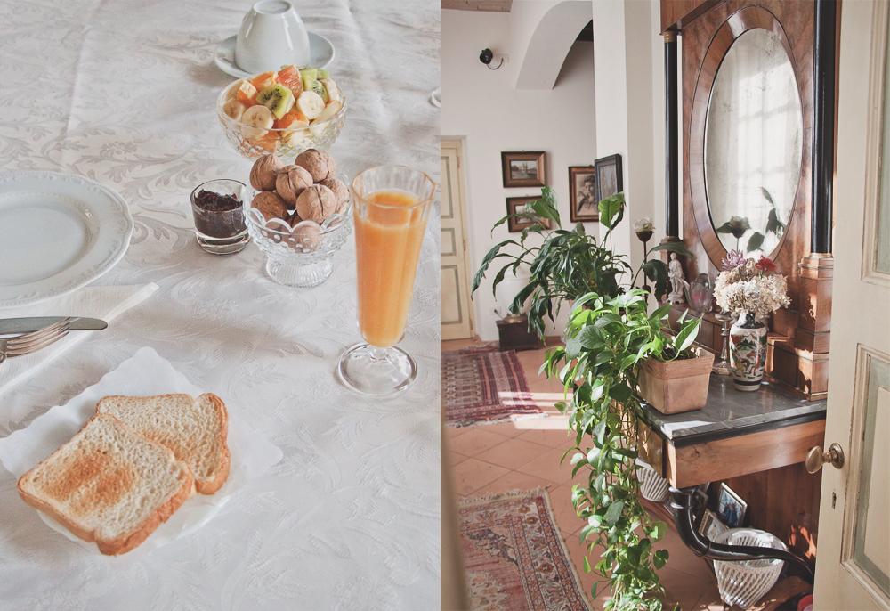 Al Battistero d'Oro vegan friendly hotel Parma Italy