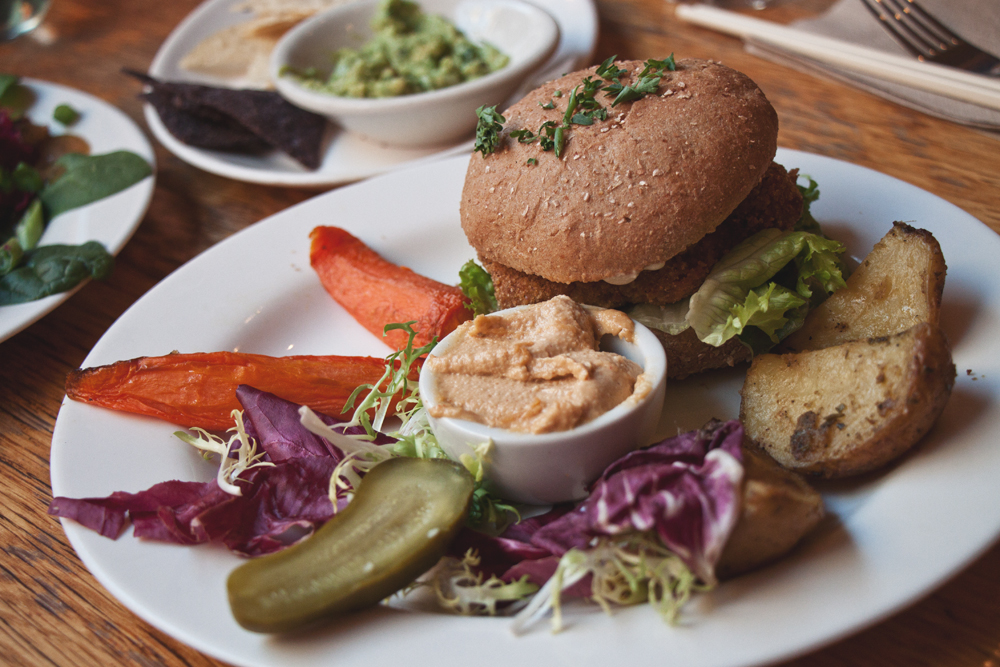 vegan burger angelica kitchen new york