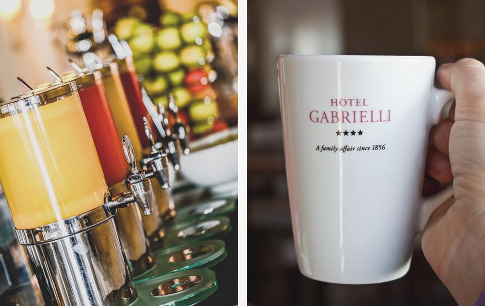 hotel gabrielli breakfast
