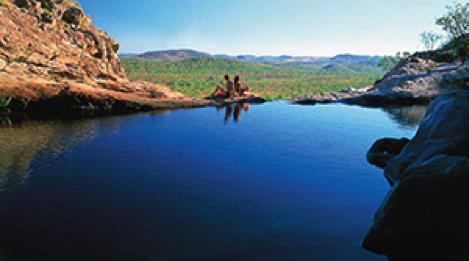 Gunlom Falls Photo Credit: ParksAustralia.gov.au