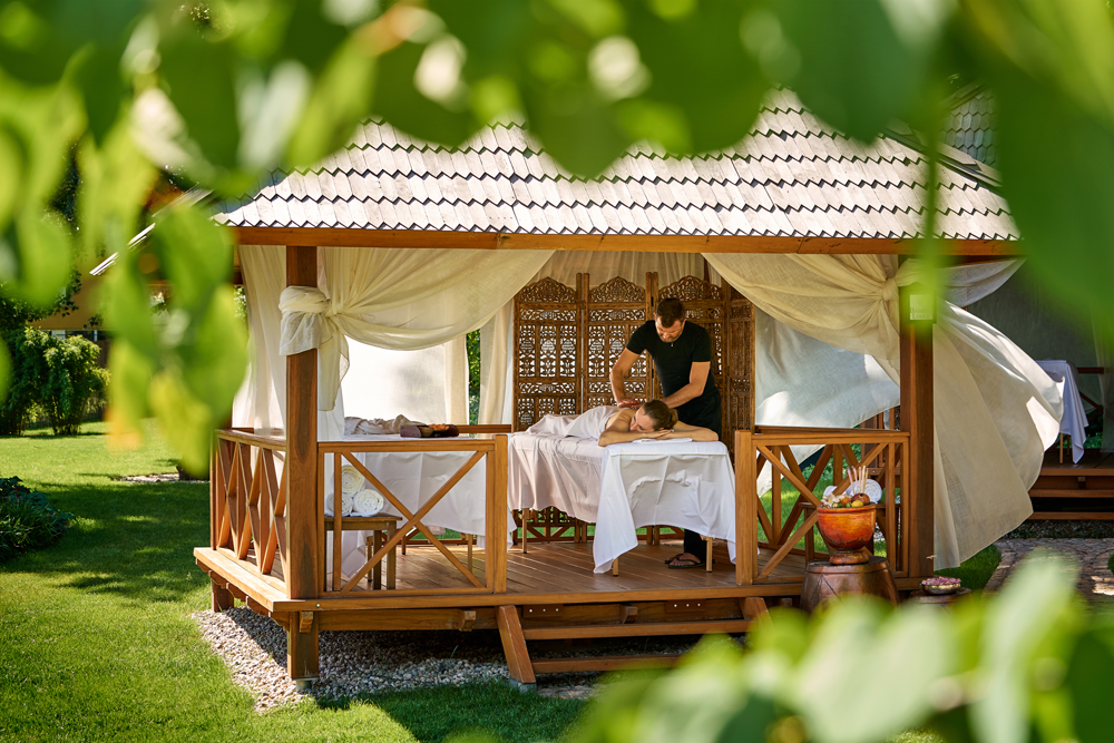 Massage at Vabali Spa