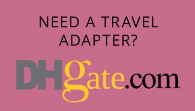 Tourism necessary - travel adapter