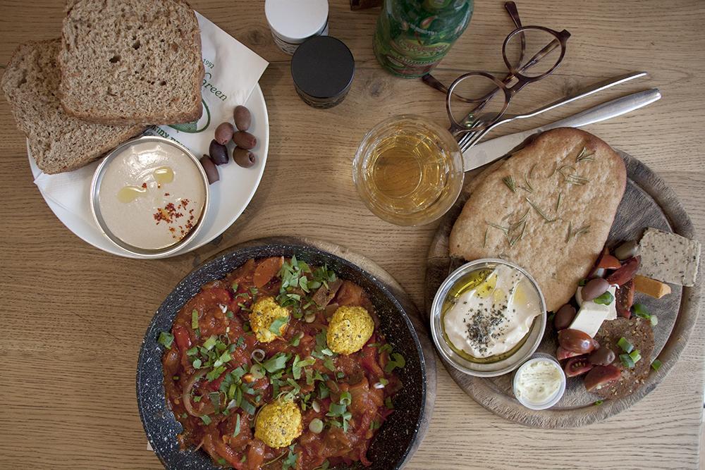 village green vegan restaurant jerusalem
