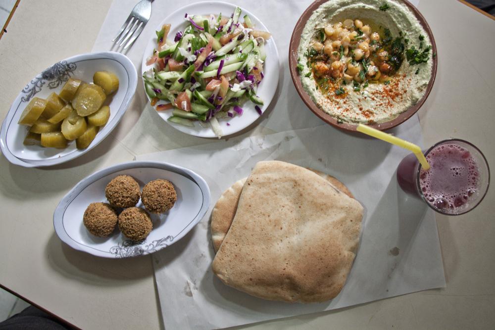 Abu Shukri vegan jerusalem