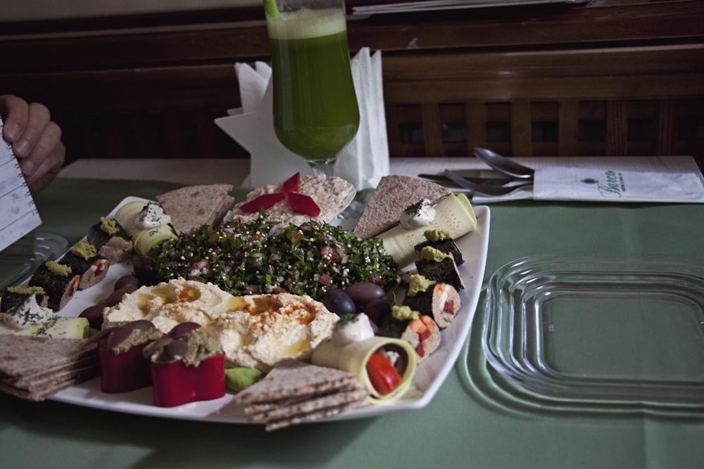 barca vegan restaurant bucharest