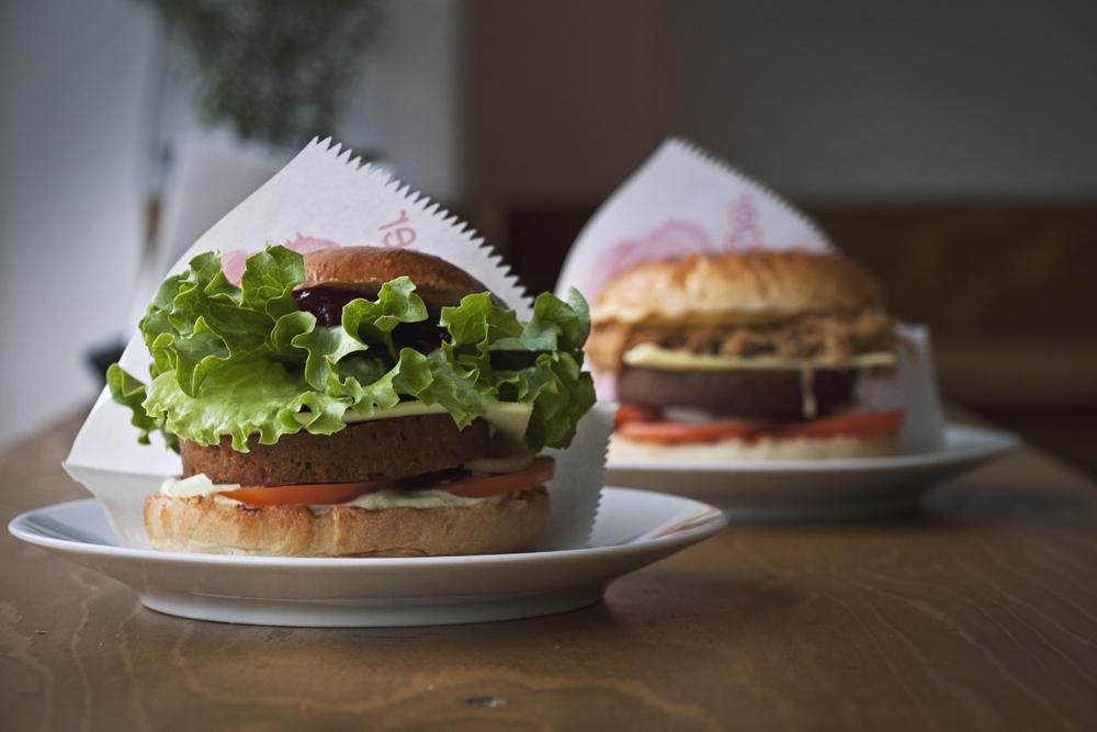 L'Herbivore Vegan Burger Berlin